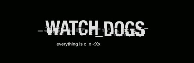 Watch Dogs trailer (sound re-design)